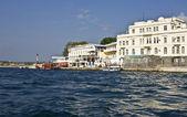 Sevastopol, nábřeží — Stock fotografie
