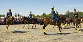 Pokaż kawalerii w Moskwie — Zdjęcie stockowe