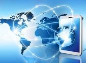 Mejor concepto de internet del negocio global de la serie de conceptos — Foto de Stock