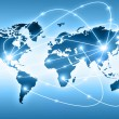 Best Internet Concept of global business from concepts series. World map — Stock Photo #20067629