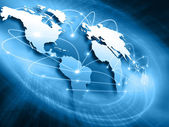 Best Internet Concept of global business from concepts series — Foto de Stock