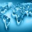 World map — Stock Photo #26328387