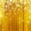 Stars descending on golden background — Stock Photo #26328987