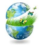 Environmental energy concept — Stock Photo