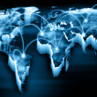 World map — Stock Photo #26330111