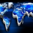 World map — Stock Photo #26330205