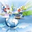 Best Internet Concept of global business from concepts series — Stockfoto