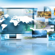 Television and internet production technology concept — Stock Photo #26517767