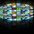Stock Photo: Television and internet production technology concept