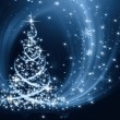 Christmas tree background — Stock fotografie