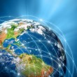 Planet earth. Best Concept of global business from concepts series. — Stock Photo #39995299