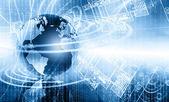 Mejor concepto de internet de negocios globales — Foto de Stock