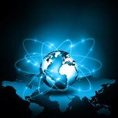 Bästa internet begreppet global affärsverksamhet — Stockfoto