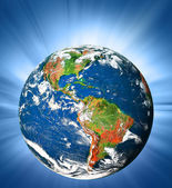 Planet earth. Best Concept of global business from concepts series — Stock Photo