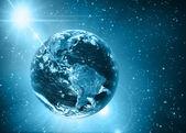 Planet earth. — Stock Photo