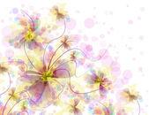 Лучший романтический цветочный фон — Стоковое фото
