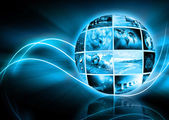 Television and internet production concept — Stock Photo