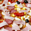 Pizza close-up — Stock Photo