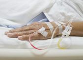 IV in Arm — Stock Photo