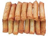 Deep fried spring rolls — Stock Photo