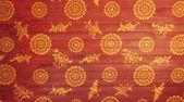 寺院の装飾が施された天井 — ストック写真