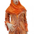 Islam women dress — Stock Photo