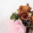 Wilt roses bouquet — Stockfoto
