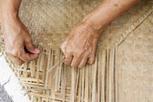 Reed matta — Stockfoto