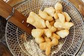 Bastone di pasta fritti — Foto Stock