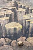 Paint on a concrete floor — Stock Photo