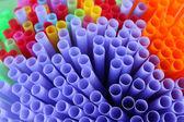 Drinking straw — Stock Photo