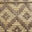 Bamboo craft wall - Stock Photo