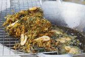 Crevettes frites profonde — Photo