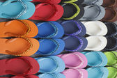 Flip flops set — Stock Photo