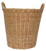 Basket wicker — Stock Photo