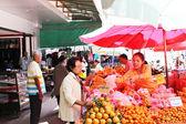 Buying Fruits — Stock Photo