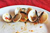Fried Enamel Venus Shell — Stock Photo