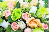Rosas artificiais — Foto Stock