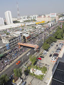 Shutdown Bangkok Restart Thailand — Stock Photo