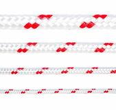 Collection de diverses cordes isolé sur fond blanc — Photo