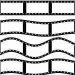 Film strip illustration isolated on white background — Stock Photo #13306585