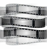 Film roll background isolated on white background — Stock Photo