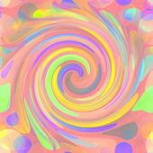 Abstrakt spiral pastellfärger bakgrund, lsd effekt — Stockfoto