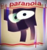 Paranoia background — Stock Photo