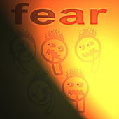 Concept of fear ( anxiety disorder ) — Stock Photo