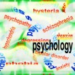 Постер, плакат: Concept psychology background