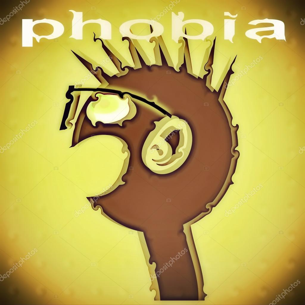 Anxieties Phobias: Concept Phobia Background ( Anxiety Disorder )