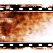 Old rusty blank film strip isolated on white background — Stock Photo #20616253