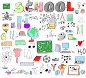 School Doodle — Stock Photo