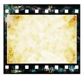 Old film strip background, texture — Stock Photo